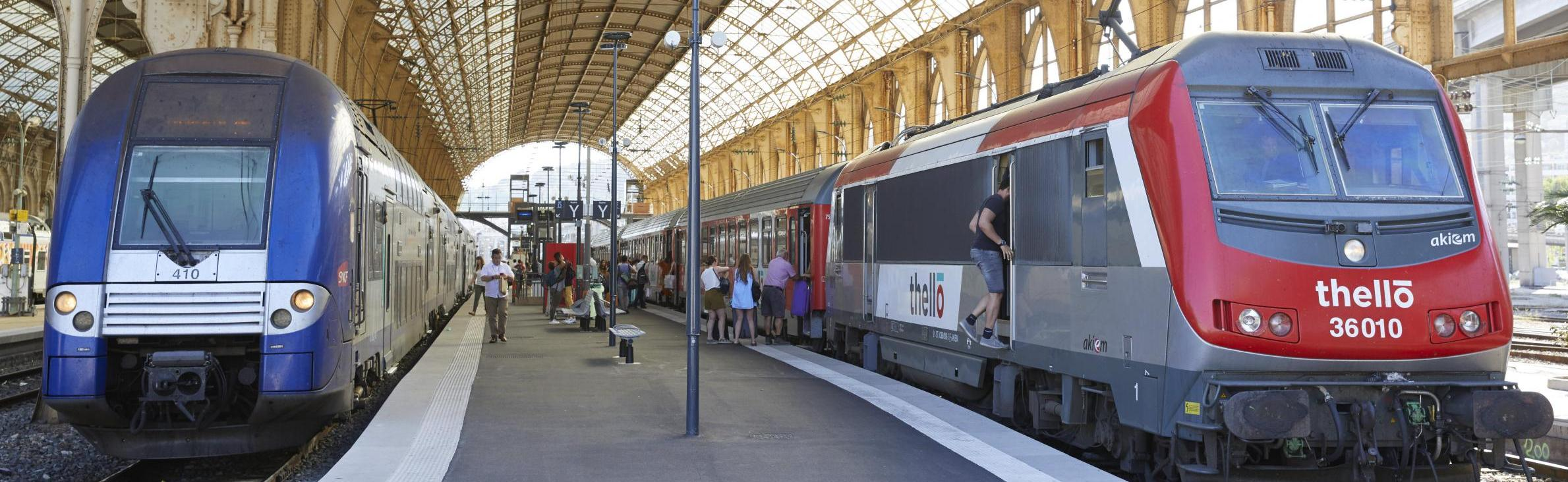 Opening the rail transport market to competition | SNCF