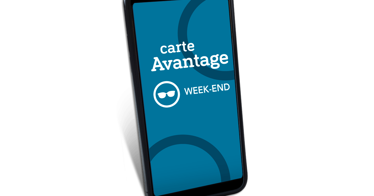 carte week end conditions Save on travel with the Avantage Week end card | SNCF