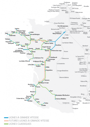 Carte Ligne Tgv.Everything You Want To Know About Sncf Reseau Sncf