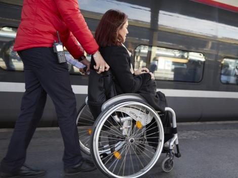 Accessible travel for people with disabilities | SNCF